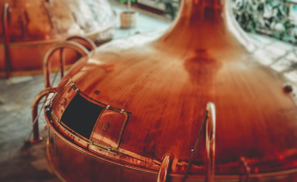 Distilling bourbon